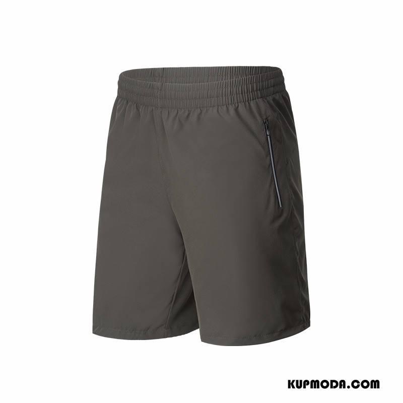 Casualowe Spodnie Męskie Szorty Sportowe Męska Lato Szybkie Suszenie Zielony