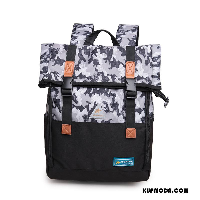 Plecak Podróżny Damskie Drukowanie Składać Płótno Oxford Kamuflaż