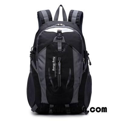 Plecak Podróżny Męskie Damska Casual Torba Turystyczna Męska Nowy Outdoor Czarny