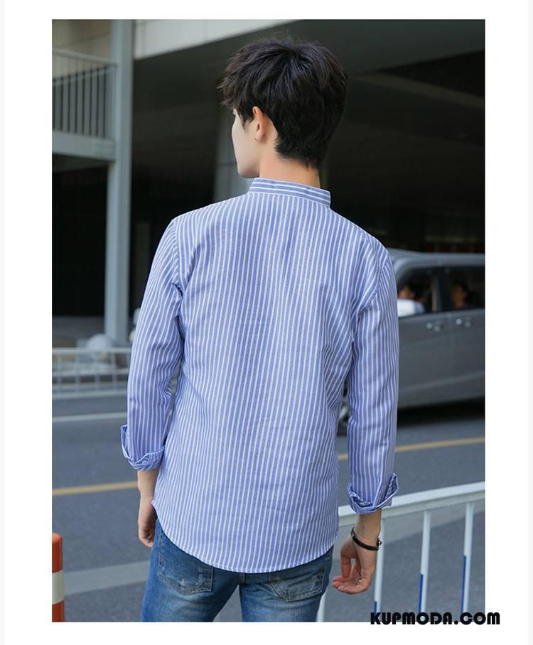 Koszula Męskie Casual Tendencja Męska Pullover Nowy Długi  PKbFr