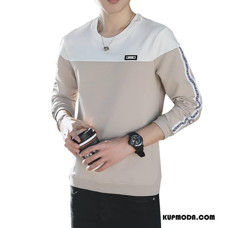 Bluza Z Kapturem Męskie Nowy Casual Wygodne Bluzy Z Kapturem Okrągły Dekolt Moda