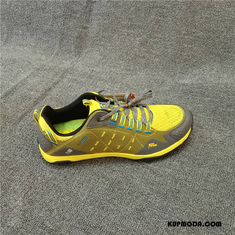 Buty Na Wędrówki Męskie Buty Trekkingowe Outdoor Casual Antypoślizgowe Wiosna Odporne Na Zużycie Żółty