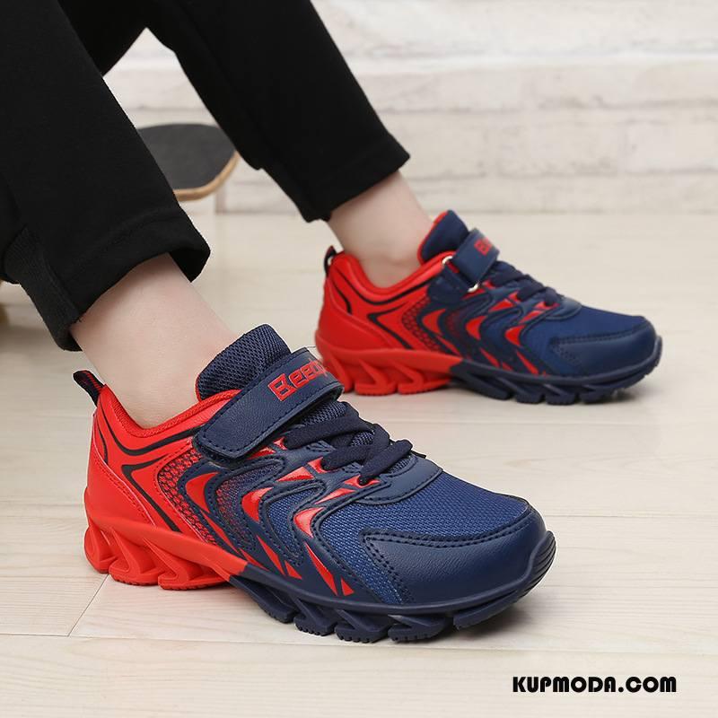Buty Na Wędrówki Męskie Marka Casual Siatkowe Oddychające Męska Dzieci Czerwony