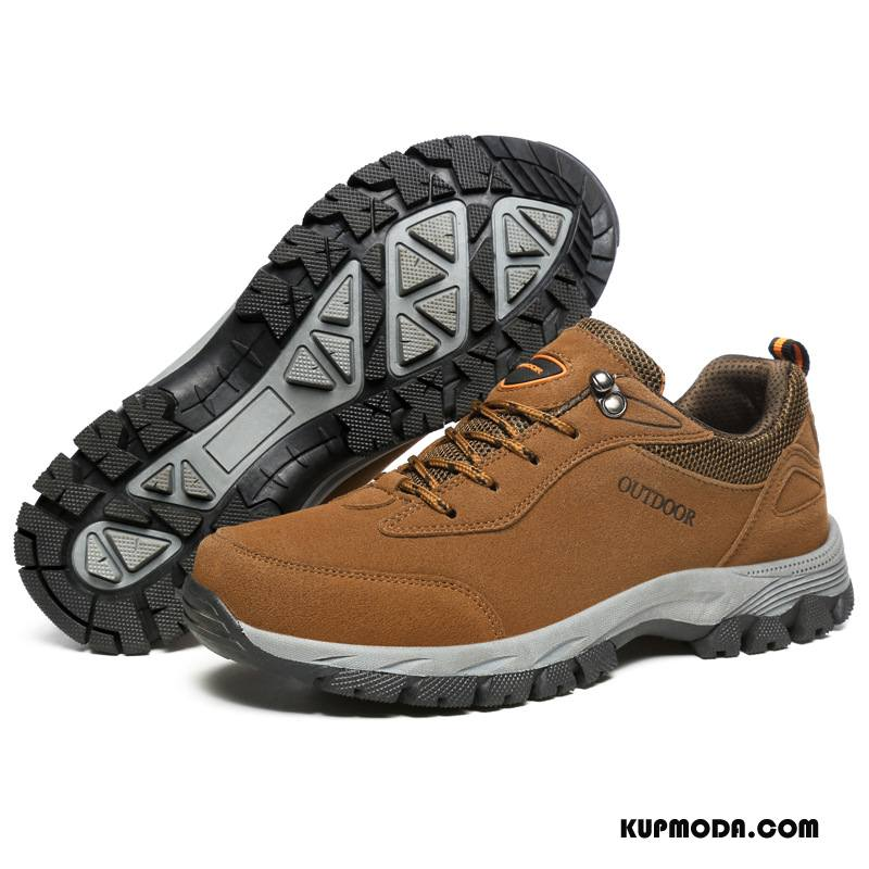 Buty Na Wędrówki Męskie Outdoor Duży Rozmiar Męska Sportowe Podróż Antypoślizgowe Khaki