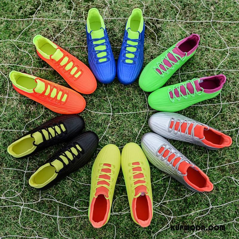 Buty Sportowe Męskie Antypoślizgowe Buty Piłkarskie Casual Długie Sznurowane Odporne Na Zużycie Zielony