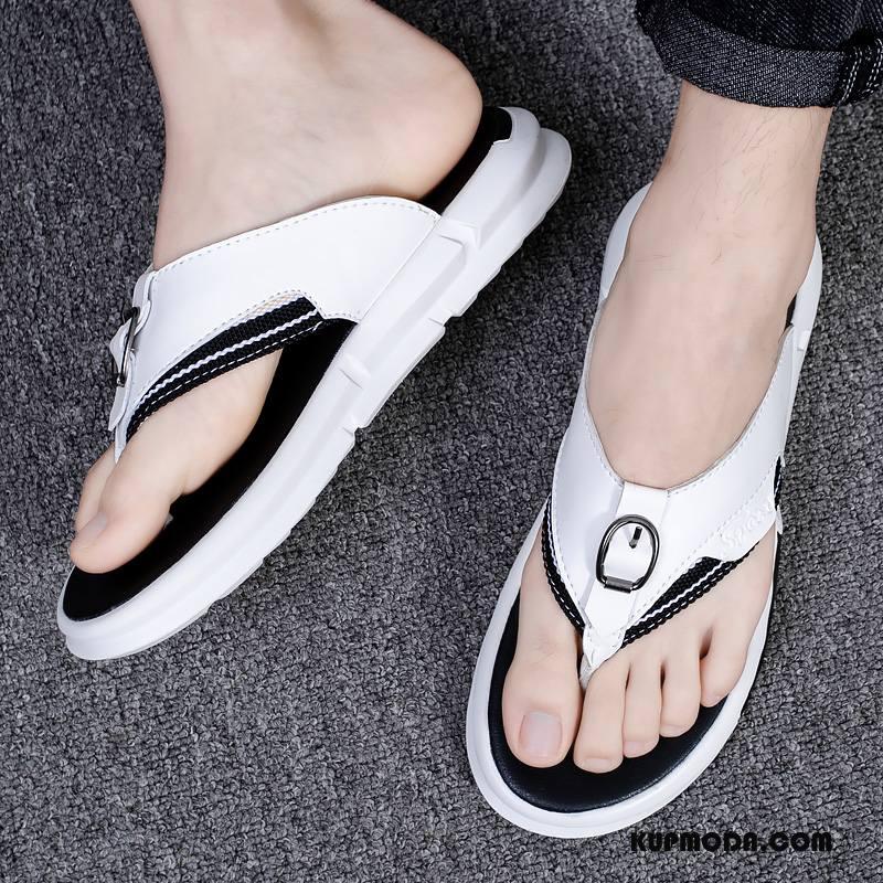 Japonki Męskie Moda Sportowe Kapcie Outdoor Tendencja Odzież Wierzchnia Biały