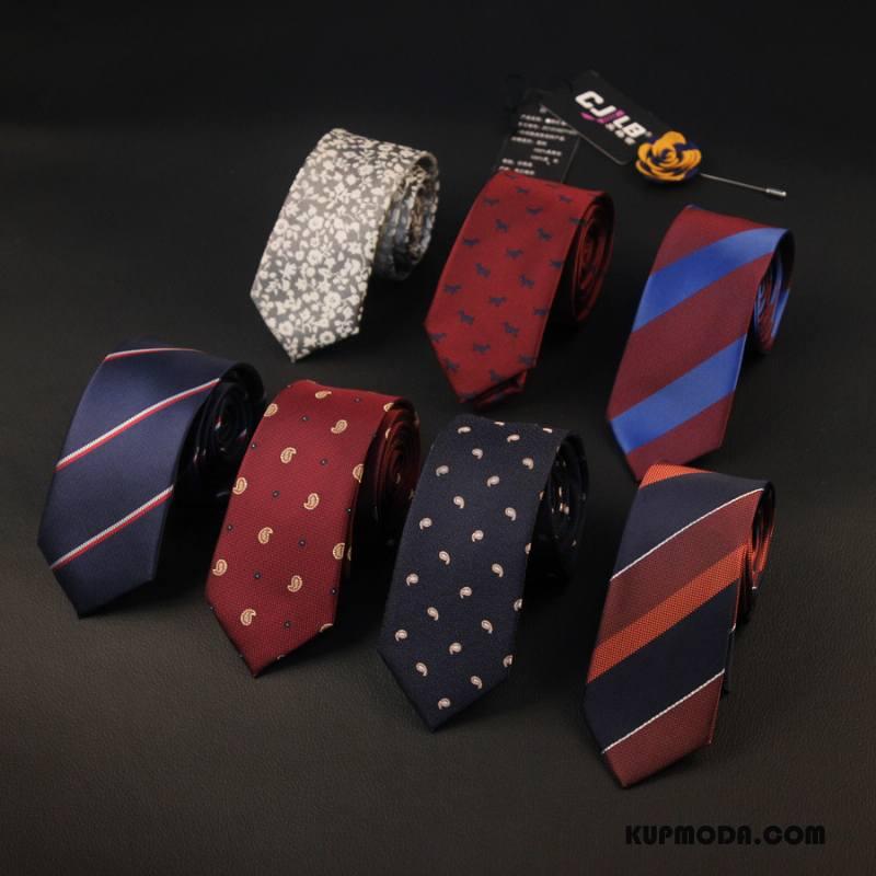 Krawat Męskie Jedwab Grupa Męska Biznes Z Pracy Brytyjski Niebieski