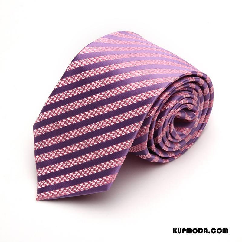 Krawat Męskie Męska Dżentelmen Z Pracy Biznes Jedwab Nowy Proszek