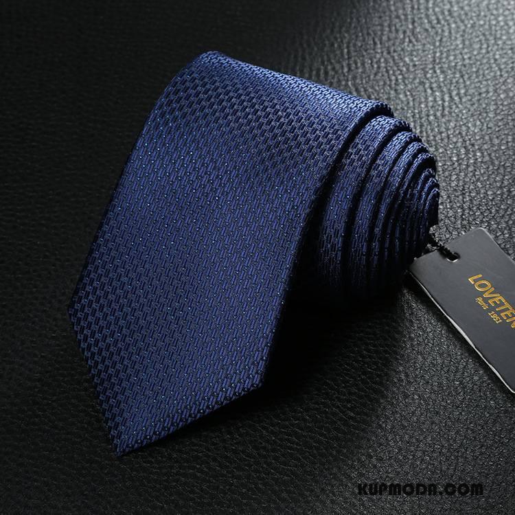 Krawat Męskie Sukienka Biznes Dobry Męska Niebieski