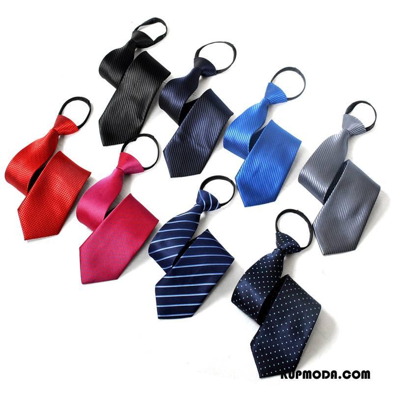 Krawat Męskie Z Pracy Zamek Mundury Koszula Męska Leniwy Niebieski