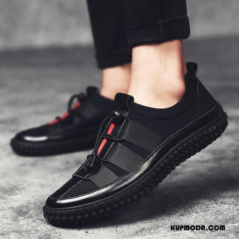 buty na jesień męskie skórzane
