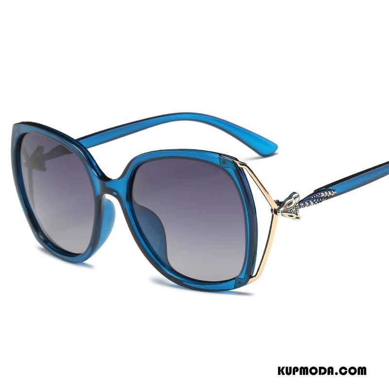 Okulary Przeciwsłoneczne Damskie Damska Moda Polaryzator Trendy 2018 Nowy Niebieski