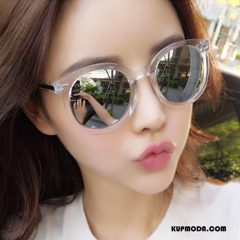 Okulary Przeciwsłoneczne Damskie Damska Nowy Przezroczysty Wielki Kolor Beżowy Biały