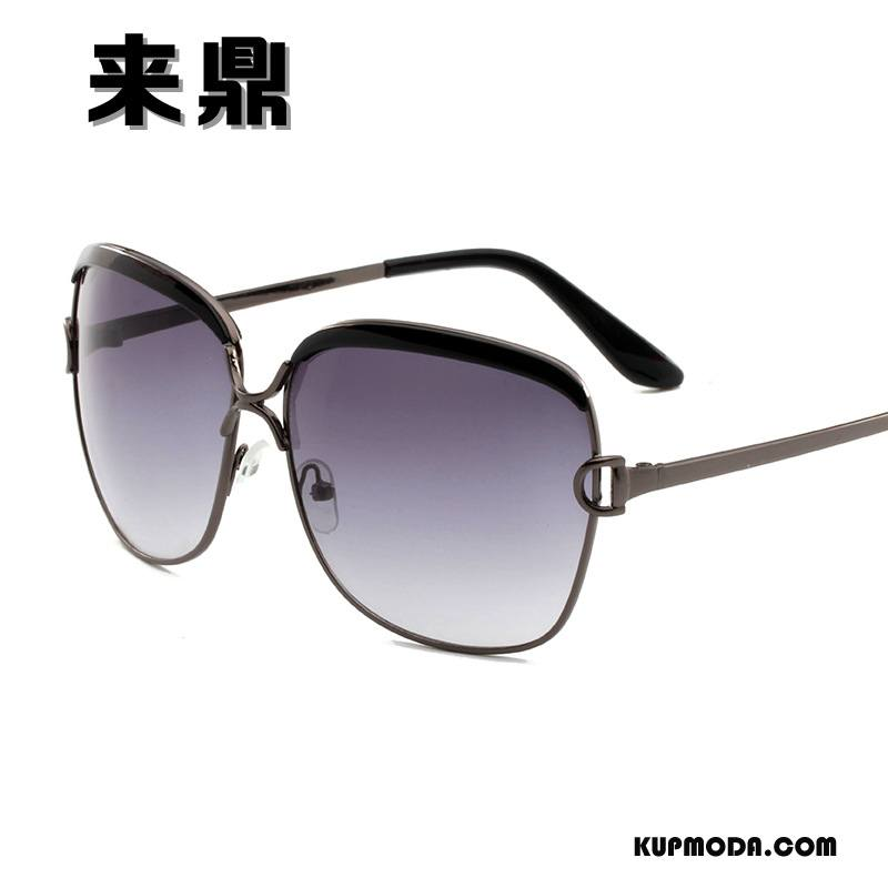 Okulary Przeciwsłoneczne Damskie Damska Ropucha Vintage Słońce Niebieski Fioletowy