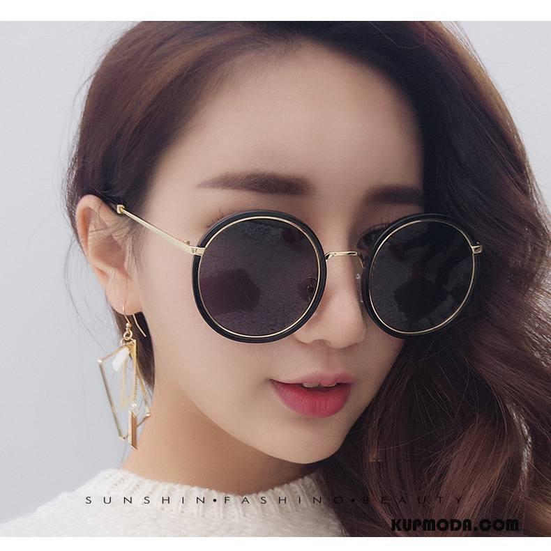 Okulary Przeciwsłoneczne Damskie Męska Trendy Moda Nowy Damska Vintage Niebieski Złoty