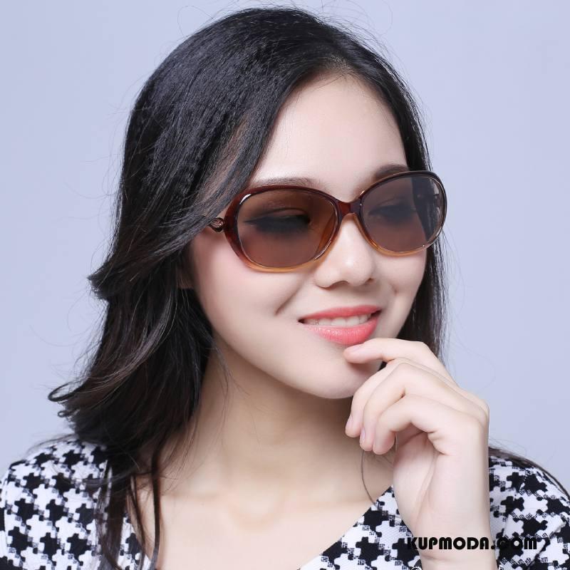 Okulary Przeciwsłoneczne Damskie Moda Wielki Damska Kryształ Fioletowy