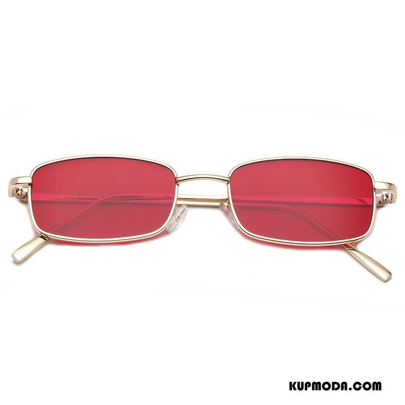 a08915a5b898ed Okulary Przeciwsłoneczne Damskie Nowy Damska Kolorowe Osobowość Moda Męska  Złoty Czerwony