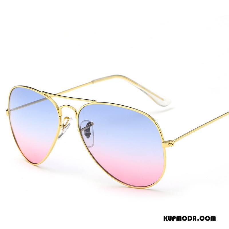 Okulary Przeciwsłoneczne Damskie Ropucha Gradient Klasyczny Damska Męska Vintage Niebieski