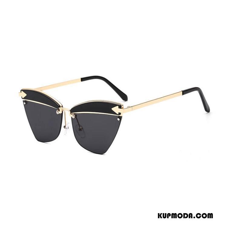 9e7e1561c9d260 Okulary Przeciwsłoneczne Męskie Damska Nowy Trendy Osobowość Męska Vintage  Złoty Czarny