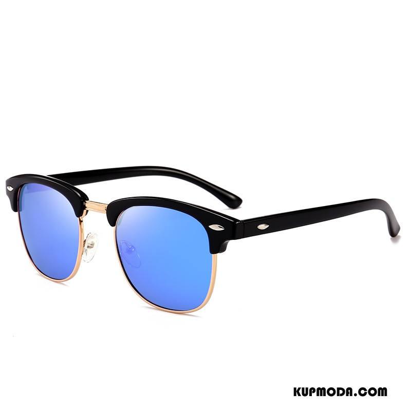 Okulary Przeciwsłoneczne Męskie Dla Kierowców Damska Wszystko Pasuje Męska Klasyczny Polaryzator Beżowy Niebieski