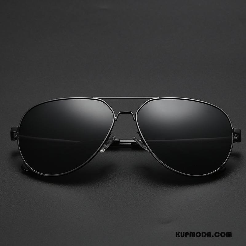 Okulary Przeciwsłoneczne Męskie Dla Kierowców Męska Outdoor Sportowe Polaryzator Fioletowy Czarny