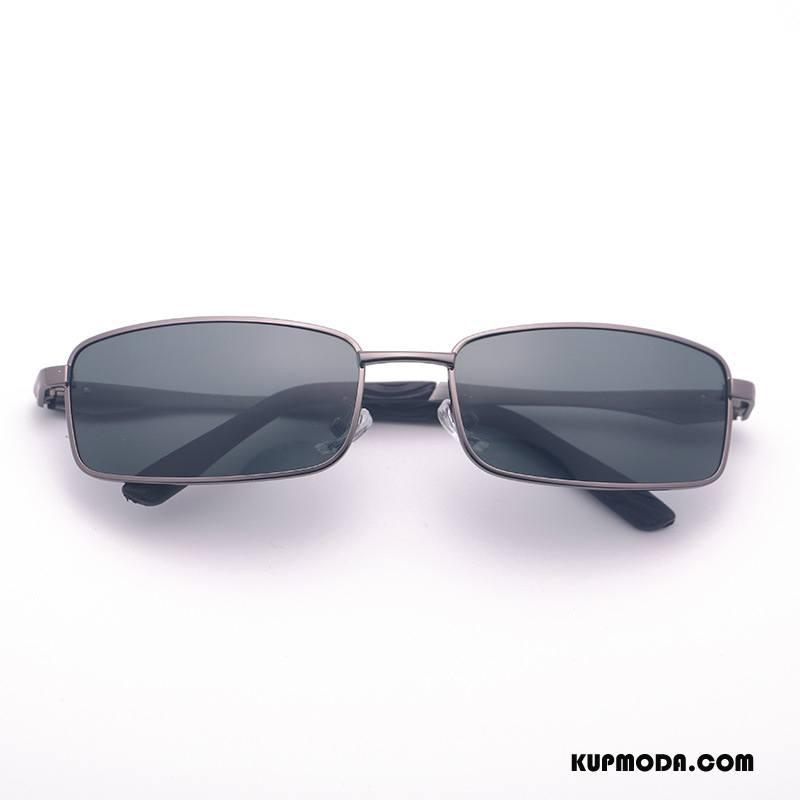 Okulary Przeciwsłoneczne Męskie Elastyczny Polaryzator Słońce Mały Wędkarstwo Klasyczny Brązowy