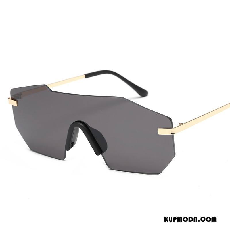 Okulary Przeciwsłoneczne Męskie Moda Trendy Męska Vintage Europa Dla Kierowców Złoty Szary Ciemno