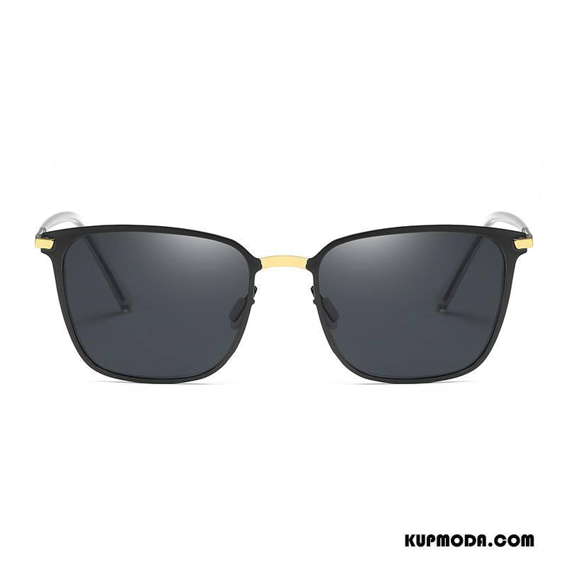 Okulary Przeciwsłoneczne Męskie Nowe Męska Dla Kierowców Polaryzator Złoty Czarny