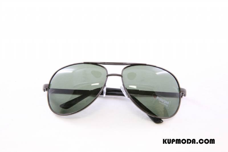 Okulary Przeciwsłoneczne Męskie Polaryzator Specjalne Męska Jasny Zielony