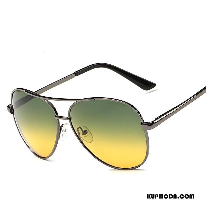 Okulary Przeciwsłoneczne Męskie Wielofunkcyjne Nocna Wizja Męska Dla Kierowców Polaryzator Żółty