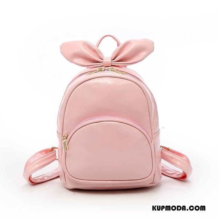 Plecak Damskie Wiosna Mini Casual 2018 Mały Moda Różowy