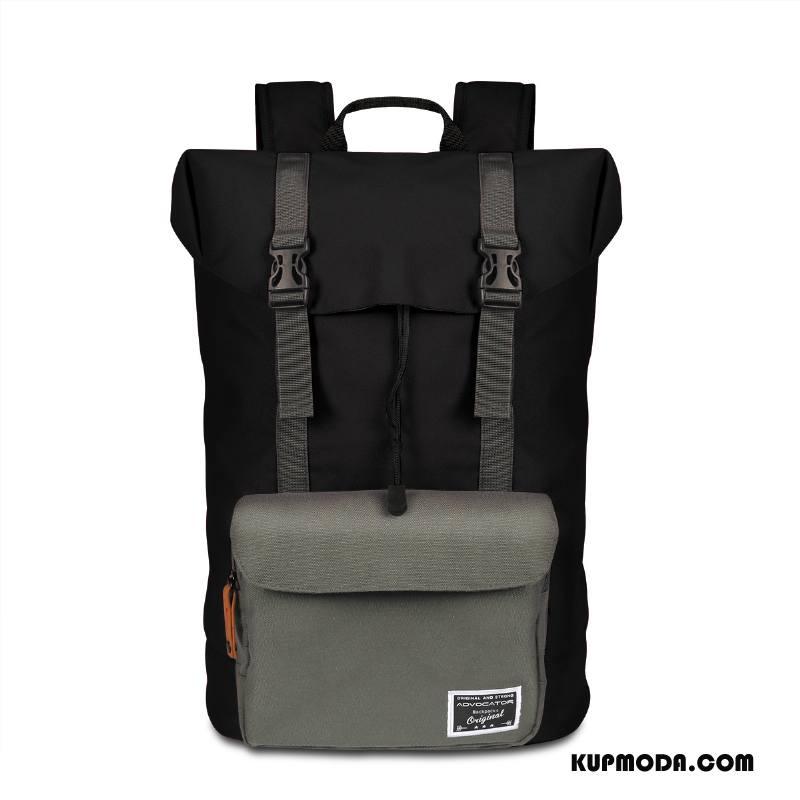 Plecak Podróżny Damskie Campingaz Trekkingowa Sportowe Casual Outdoor Płótno Szary Czarny