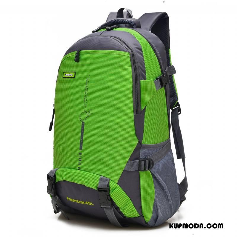 Plecak Podróżny Męskie Casual Torba Turystyczna Sportowe Nowy Damska Męska Zielony