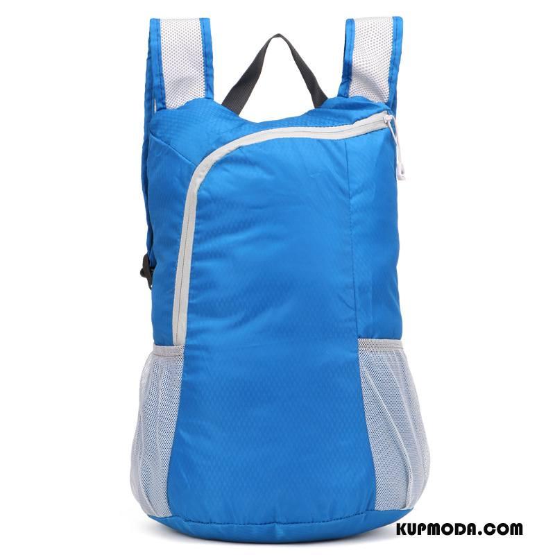 Plecak Podróżny Męskie Męska Nowy Trekkingowa Trendy Damska Składać Niebieski