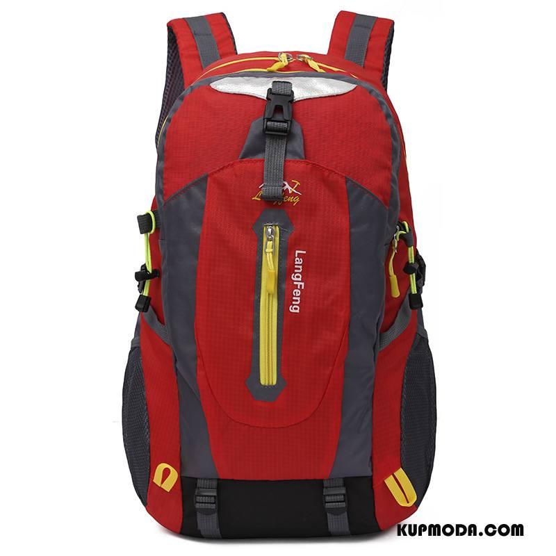 Plecak Podróżny Męskie Nowy Trekkingowa Zamek 2018 Outdoor Student Kamuflaż Kolor Czerwony