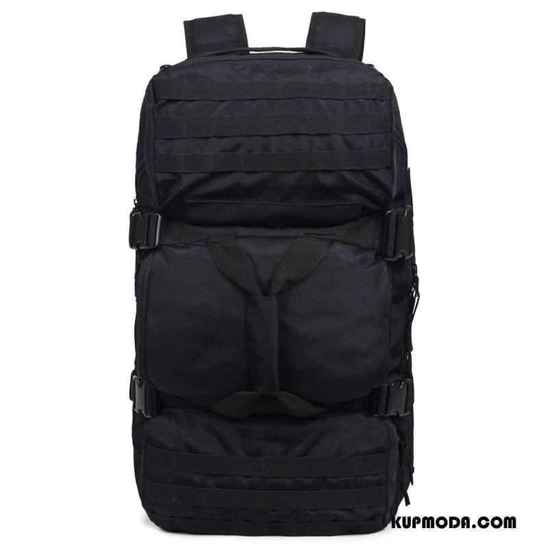 Plecak Podróżny Męskie Praktyczny Torba Turystyczna Outdoor Torba Sportowa Duża Pojemność Męska Czarny