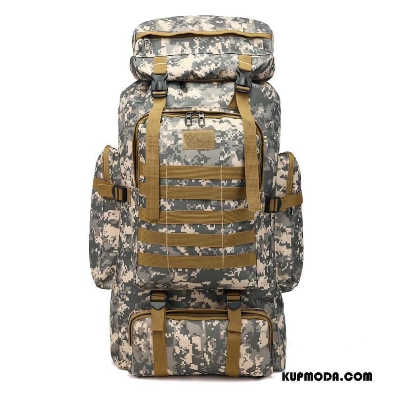 Plecak Podróżny Męskie Trekkingowa Nowy Casual Męska Duża Pojemność Outdoor Kamuflaż