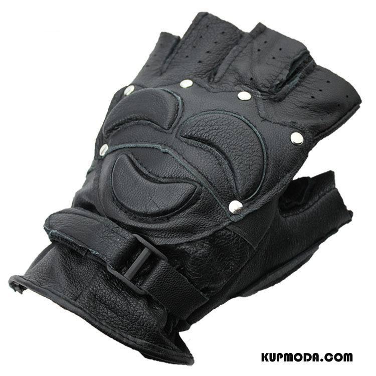 Rękawiczki Męskie Ochrona Sportowe Buckskin Męska Czarny