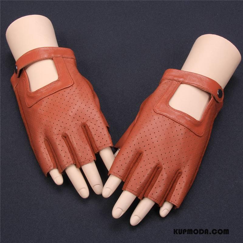 Rękawiczki Męskie Pół Palca Damska Jazdy Męska Ochrona Przed Słońcem Rower