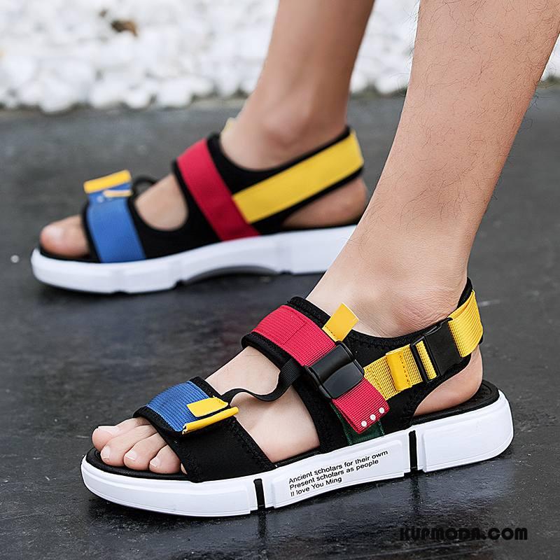 Sandały Męskie Sportowe Moda Osobowość Młodzież Tendencja Lato Kolor