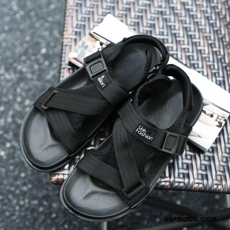 Sandały Męskie Tendencja Lato Buty Odzież Wierzchnia Casual Męska Czarny