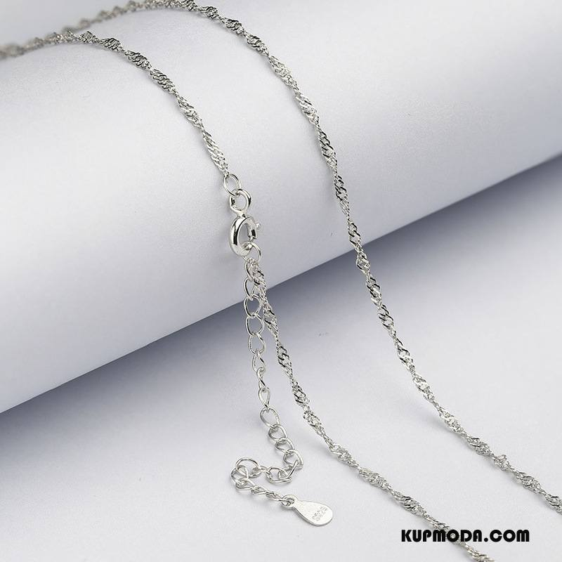 Srebrna Biżuteria Damskie Akcesoria Sweter Długie Damska Srebrny Biały