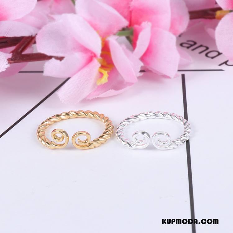 Srebrna Biżuteria Damskie Damska Kwiaty Bransoletki Złoty Srebrny
