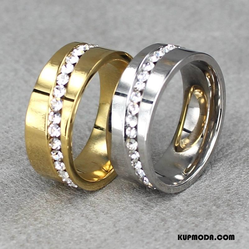 Srebrna Biżuteria Męskie Męska Europa Gorący Akcesoria Z Kryształkami Trendy