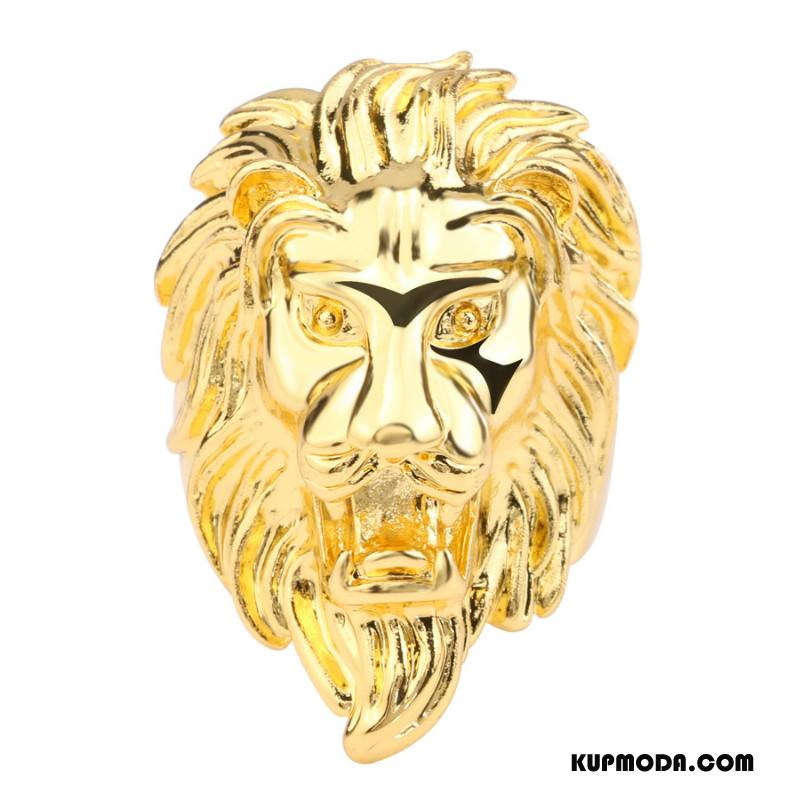 Srebrna Biżuteria Męskie Męska Hip Hop Europa Rock Moda Akcesoria Złoty