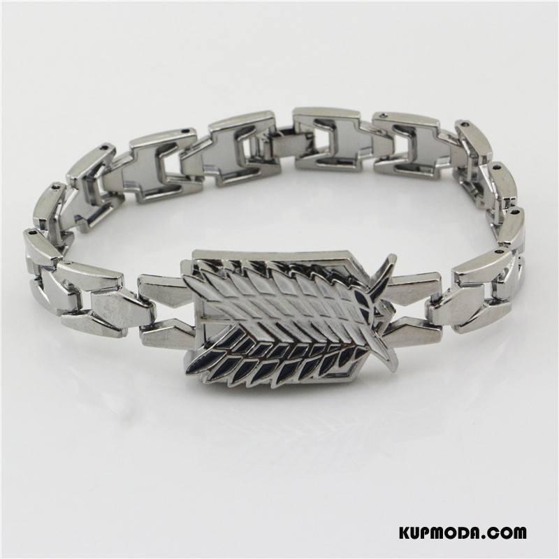 Srebrna Biżuteria Męskie Męska Osobowość Kreskówka Zegarek Na Rękę Akcesoria Bransoletki Złoty